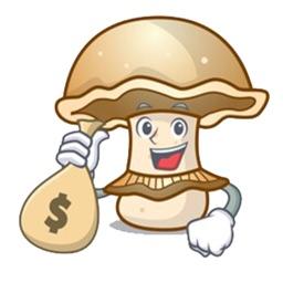 Mushroom Life sticker