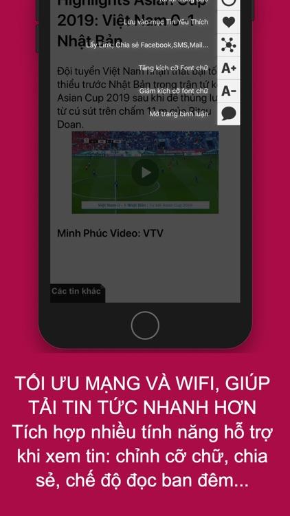 BÁO ONLINE - Báo Mới, Tin Mới screenshot-3