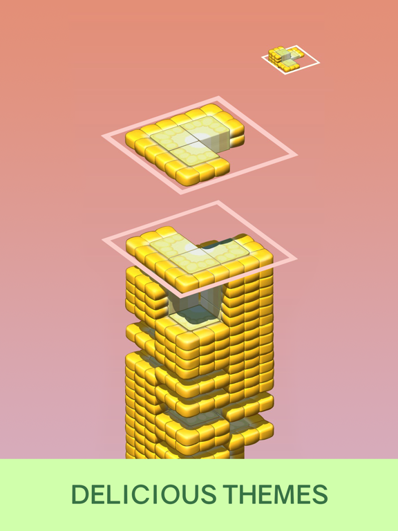 iPad Image of Juicy Stack - 3D Tile Puzzlе