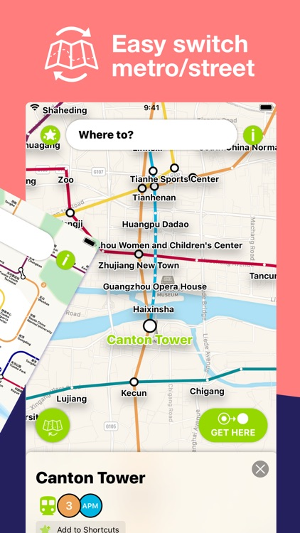 Guangzhou Metro Route planner