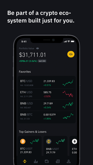 messages.download Binance.US - Bitcoin & Crypto software