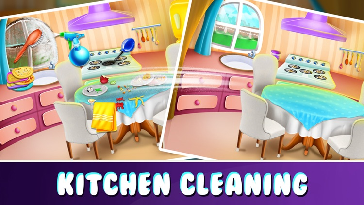 Tidy Girl House Cleaning Game