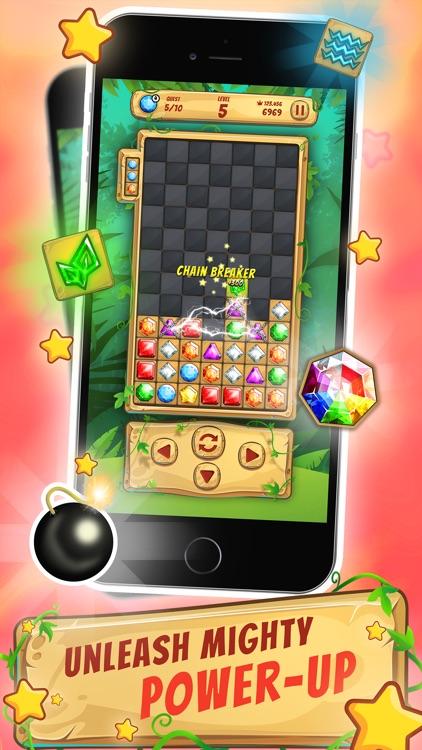 Block Jewel: Tentrix Puzzle screenshot-3