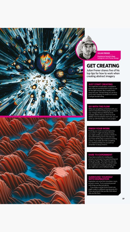 3D Artist Magazine: CG skills screenshot-6
