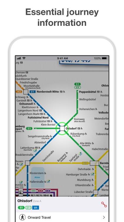 Hamburg Metro - Map & Route
