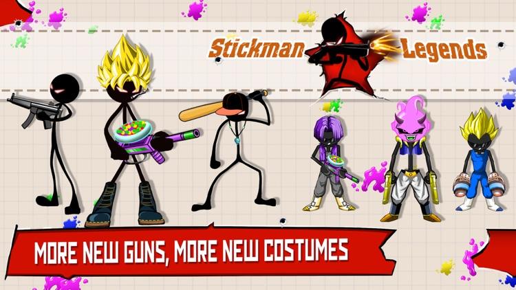 Stickman Legends: Gun Shooting screenshot-0
