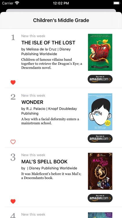 The Best Seller List screenshot-4