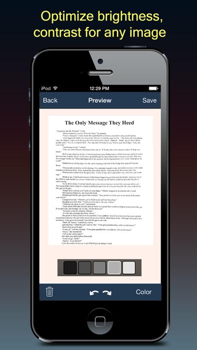 Screenshot #3 pour Fast Scanner : PDF Doc Scan