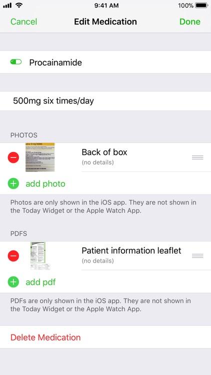 Medical ID Record screenshot-4