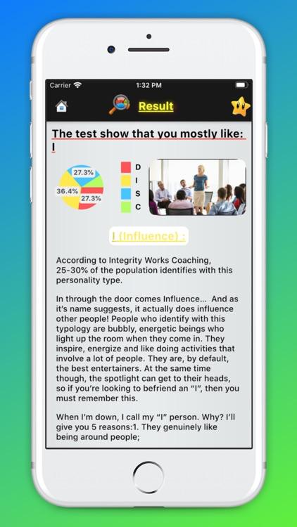 DISC Test - Personality Test screenshot-8