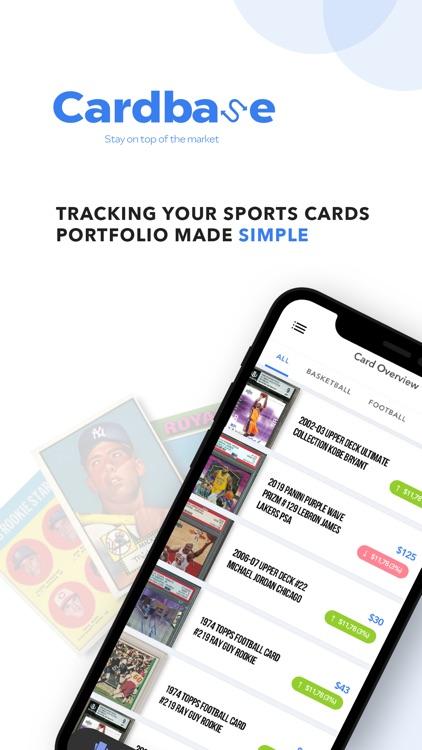 Cardbase: Sports Cards Tracker