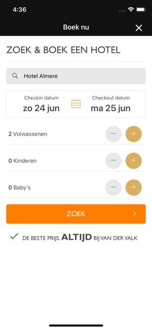 Van Der Valk Valkexclusief In De App Store