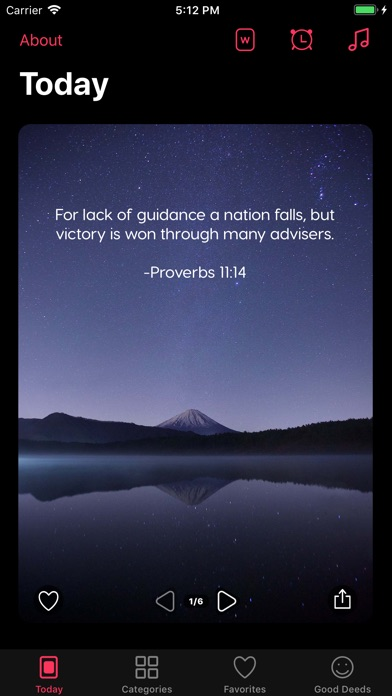 Daily - Bible Verse of the Day screenshot 1