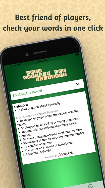 Word Checker for Scrabble®