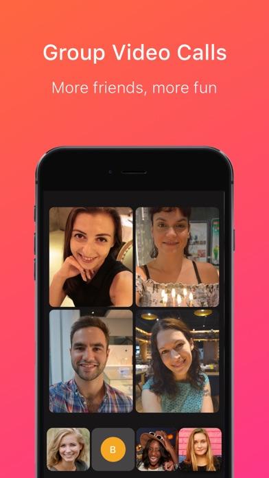 Justalk Video Chat Messenger review screenshots