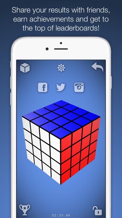 Magic Cube Puzzle 3D screenshot-5