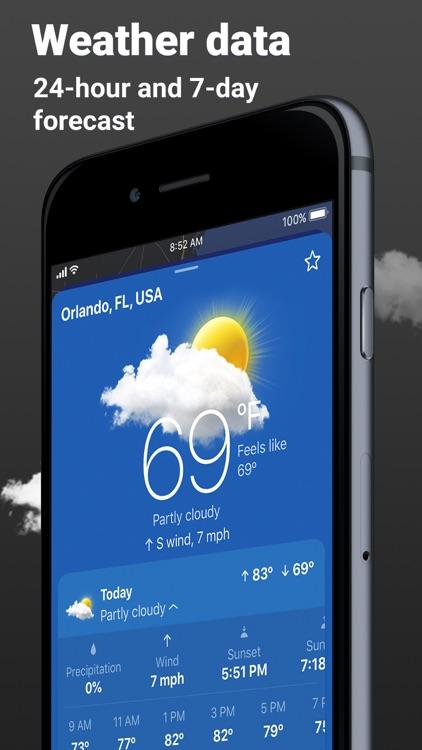 Clime: NOAA Weather Radar Live screenshot-3