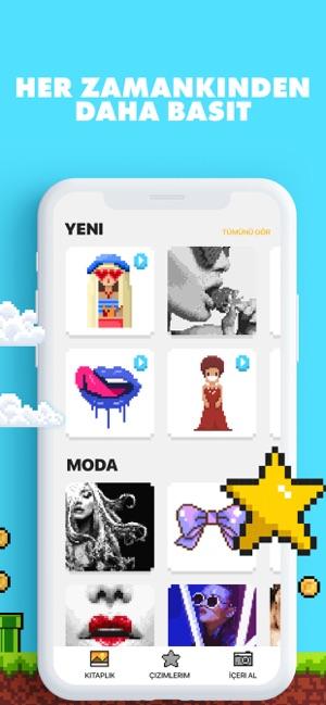 Unicorn Boyama Oyunları App Storeda
