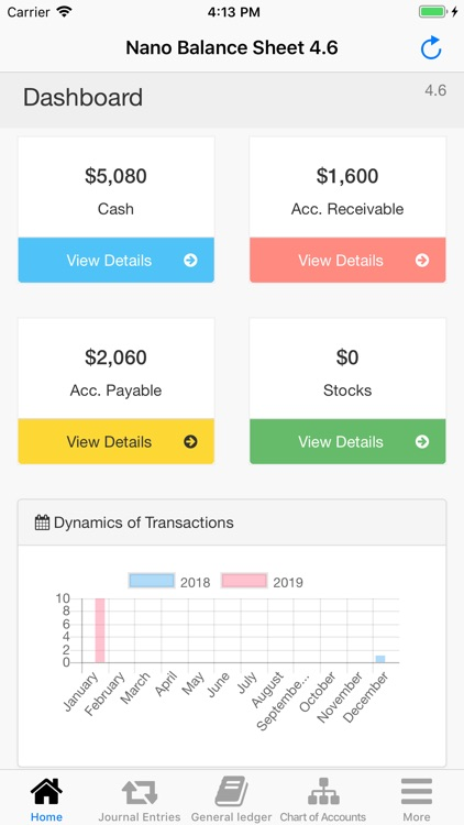 Nano Balance Sheet screenshot-1