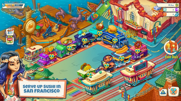 Idle Food Truck Tycoon™ screenshot-5