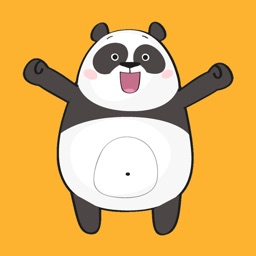 Cute Cartoon Panda Stickers