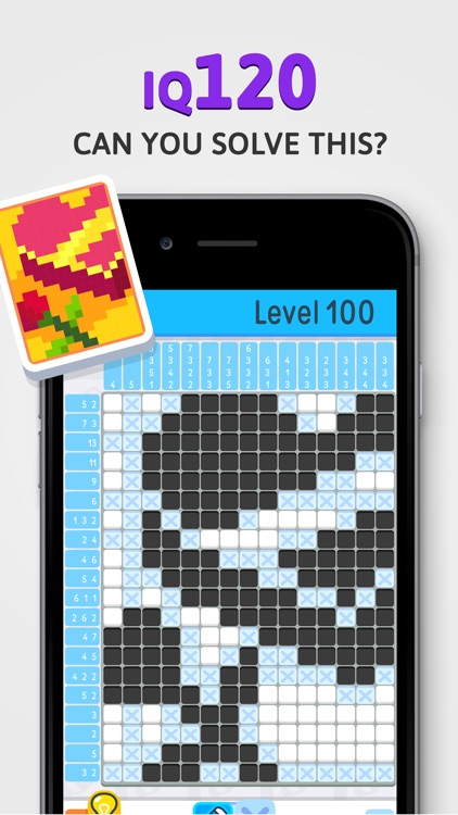 Nonogram - IQ Logic Pic Puzzle screenshot-4