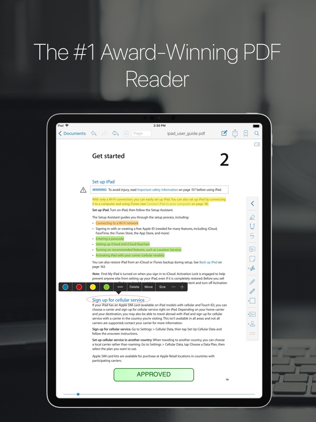 ‎PDF Reader Pro Edition® Screenshot