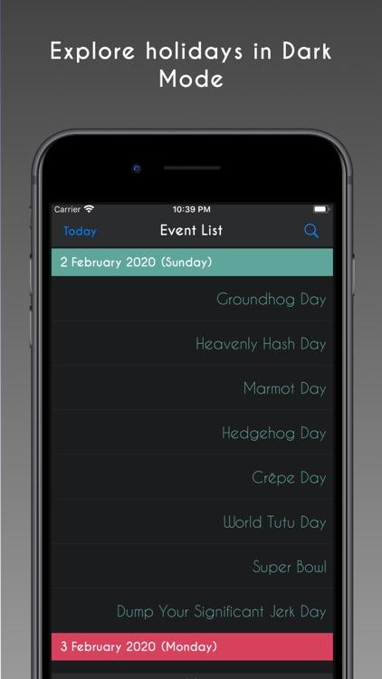 Holiday Today screenshot-5