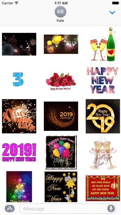 Animated Happy New Year Gif screenshot 1