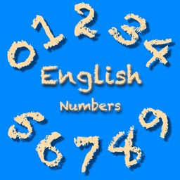 English Numbers 1-2-3
