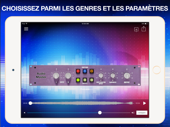 Screenshot #6 pour AudioMaster: Audio Mastering
