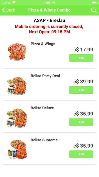 Belisa Pizza screenshot-4
