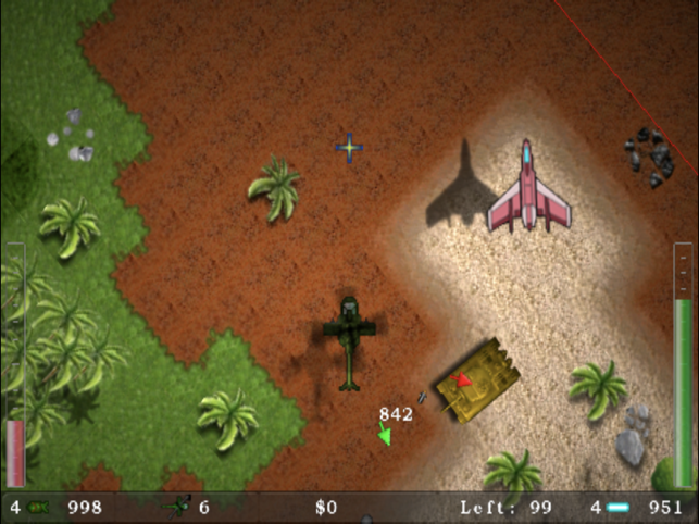 Blue Skies, game for IOS