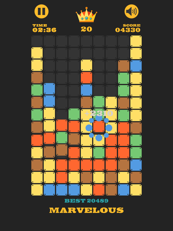 Clear The Blocks, Merge Colors screenshot 13
