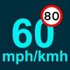 速度计英里/公里的GPS跟踪器