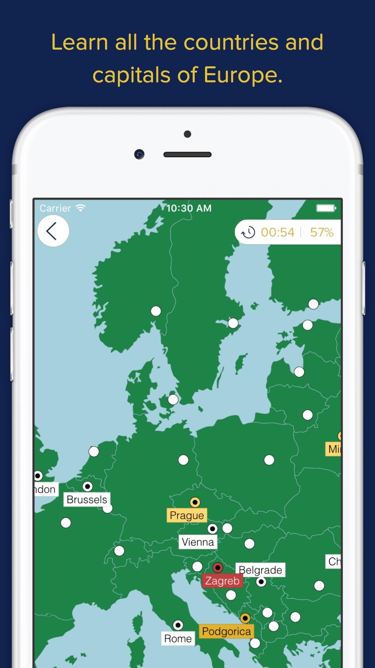 Screenshot do app Seterra Geography (full)