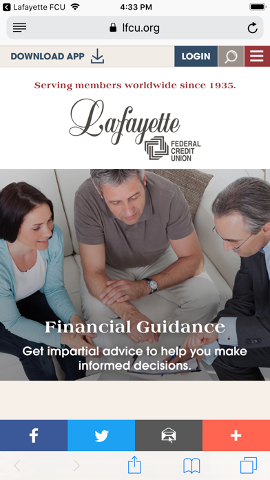 Lafayette Federal Credit UnionScreenshot of 6