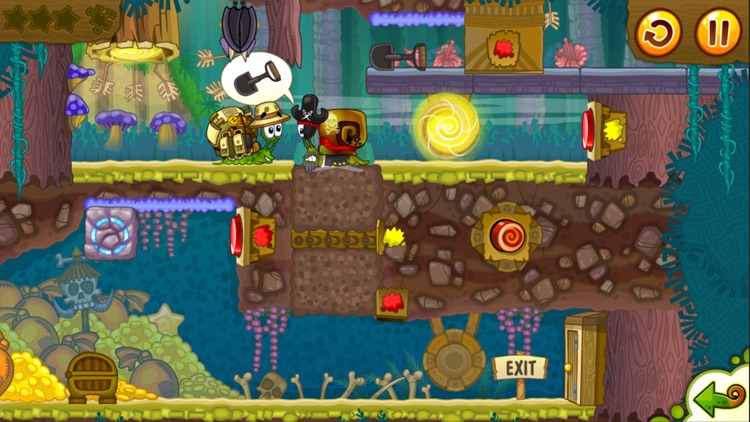 Snail Bob 2: Platform Games 2d screenshot-2