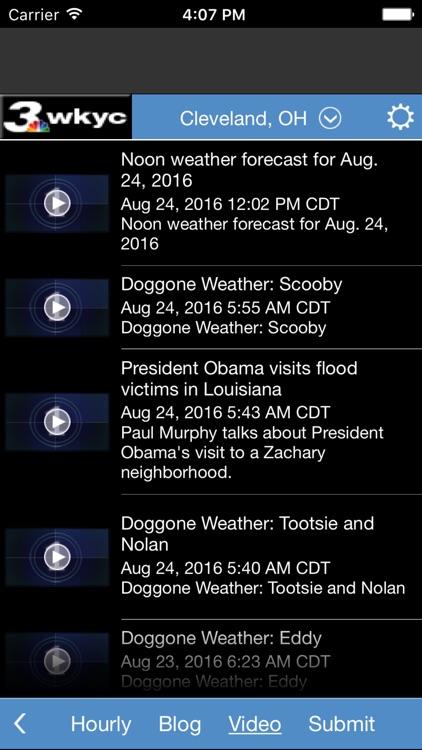 WKYC Weather screenshot-4