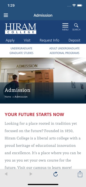 Hiram College On The App Store
