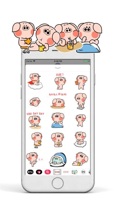 Screenshot for Cute Piggiemoji in United States App Store