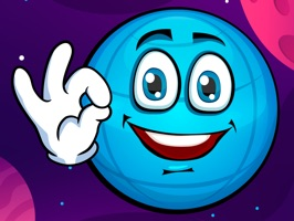 Emoji Planet Stickers: Earth