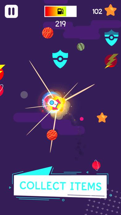 Draggy Rocket - Star Road Race Screenshot on iOS