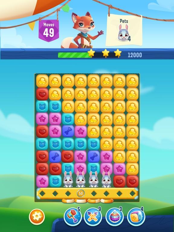 Pet Rescue Puzzle Saga screenshot 12