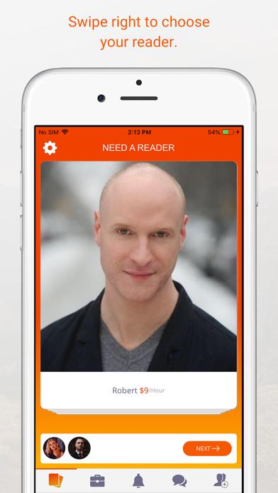 Need A Reader Actor App screenshot one