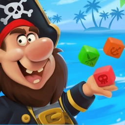 Pirate's Dice: Four in a row