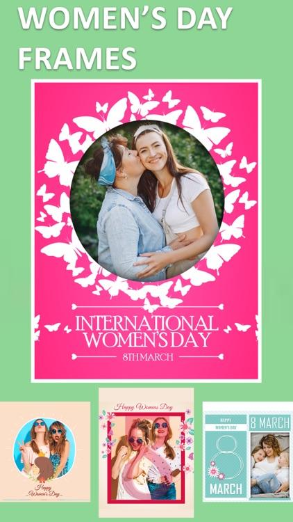 Women's Day Photo Frame Editor