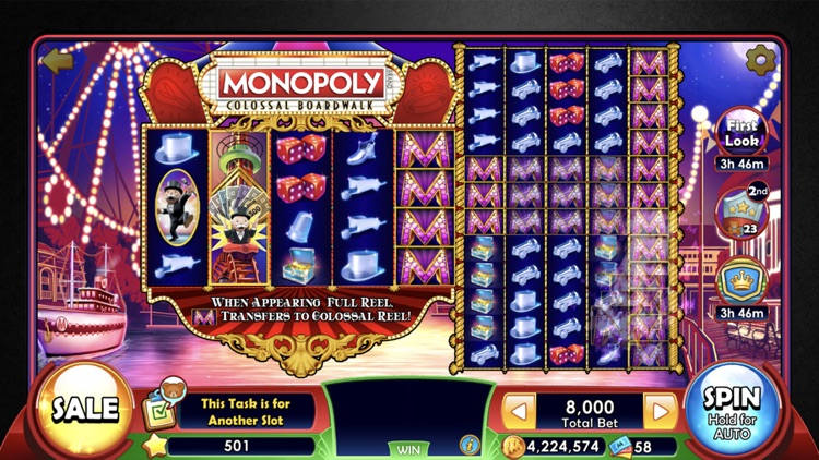 MONOPOLY Slots - Slot Machines screenshot-4