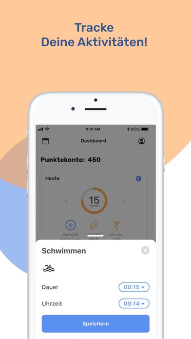 Proactive Health AppScreenshot von 2