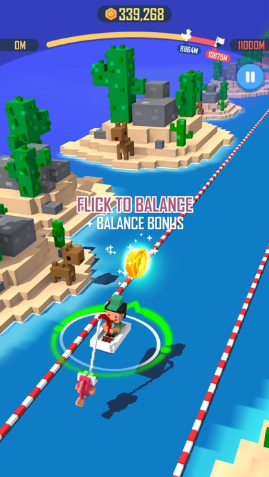 Jump Rider: Crazy Boat screenshot 3